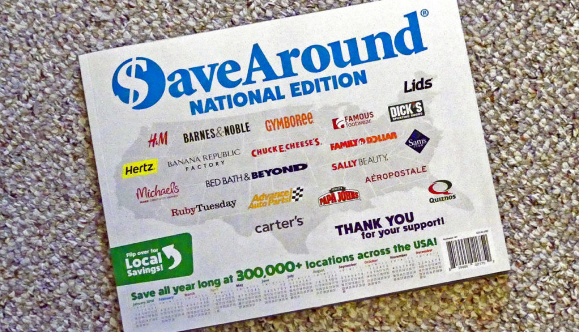 Save Around Coupon Book #1 (2)